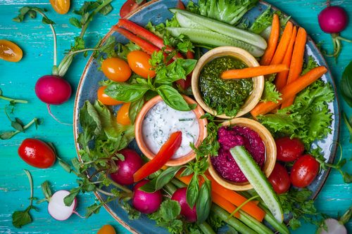 Salad & Dips